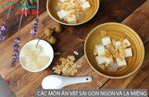Các món ăn vặt Sài Gòn ngon và lạ miệng, ai ăn cũng thích