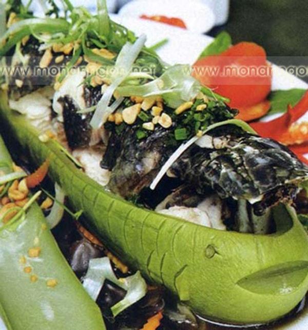 Công thức làm món cá lóc hấp bầu dân dã tuyệt ngon