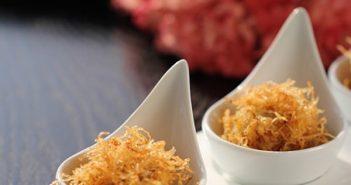 Biến tấu mới lạ lẫm cho món thịt viên bọc khoai tây sợi
