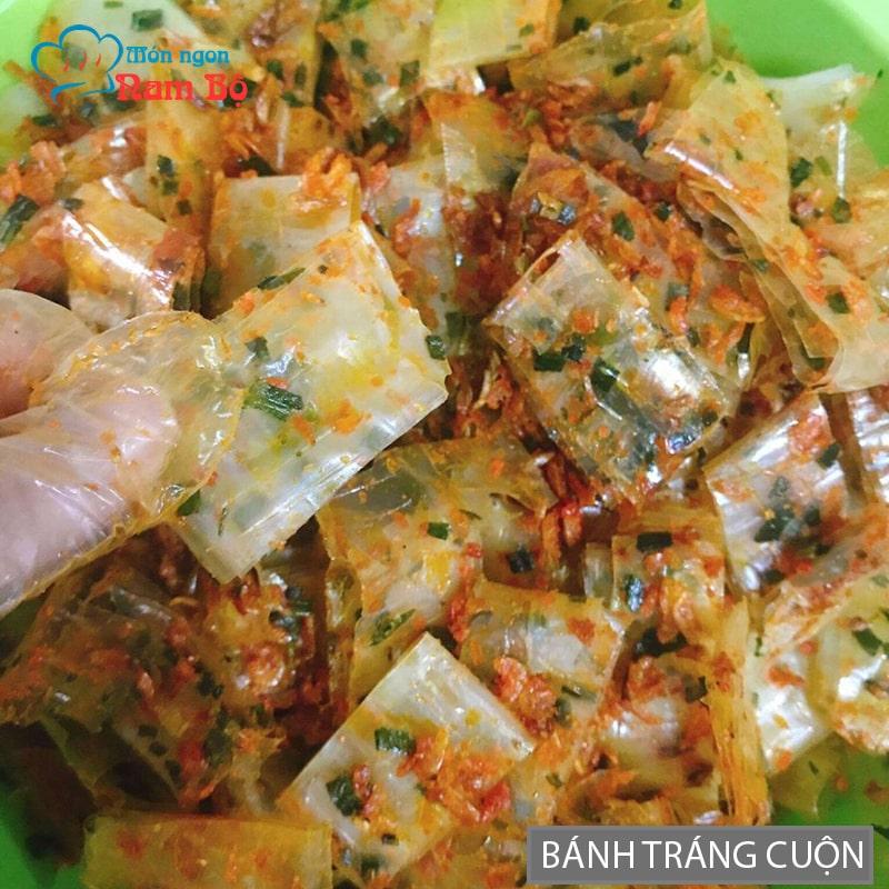 Bánh tráng cuốn Sài Gòn