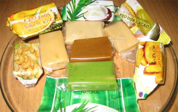 những món ngon từ dừa ở Bến Tre mê hoặc du khách
