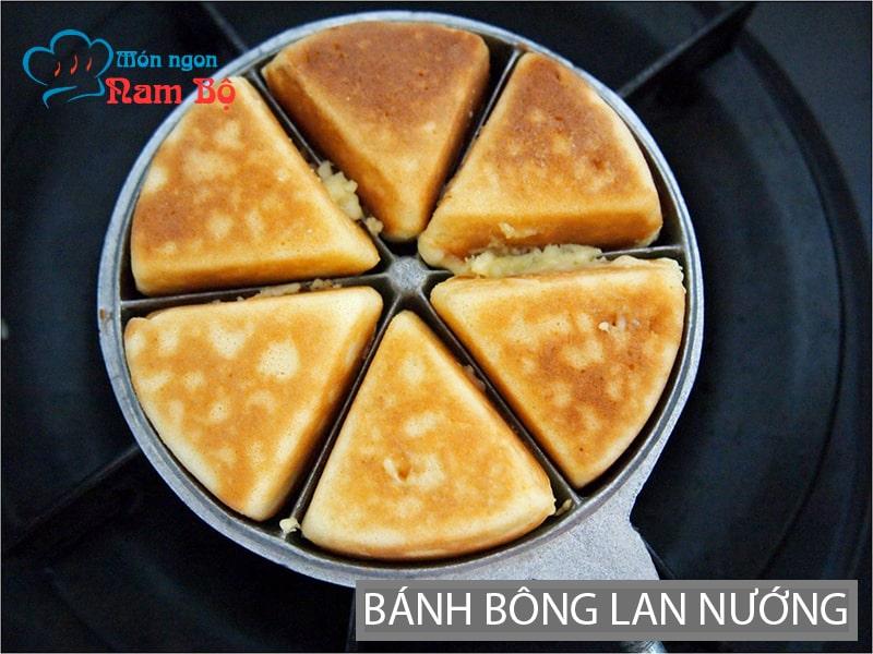 Bánh bông lan nướng vỉa hè Sài Gòn