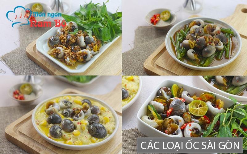Sài Gòn nổi tiếng với rất nhiều quán ốc ăn vặt ngon