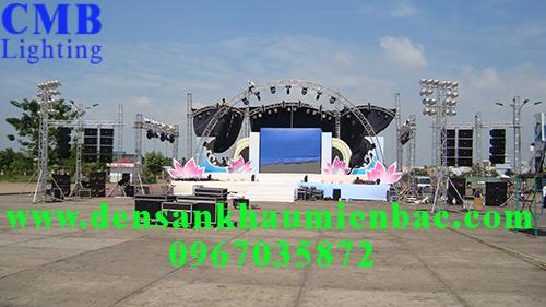Hướng dẫn lắp đặt ánh sáng sân khấu ngoài trời chuyên nghiệp 4