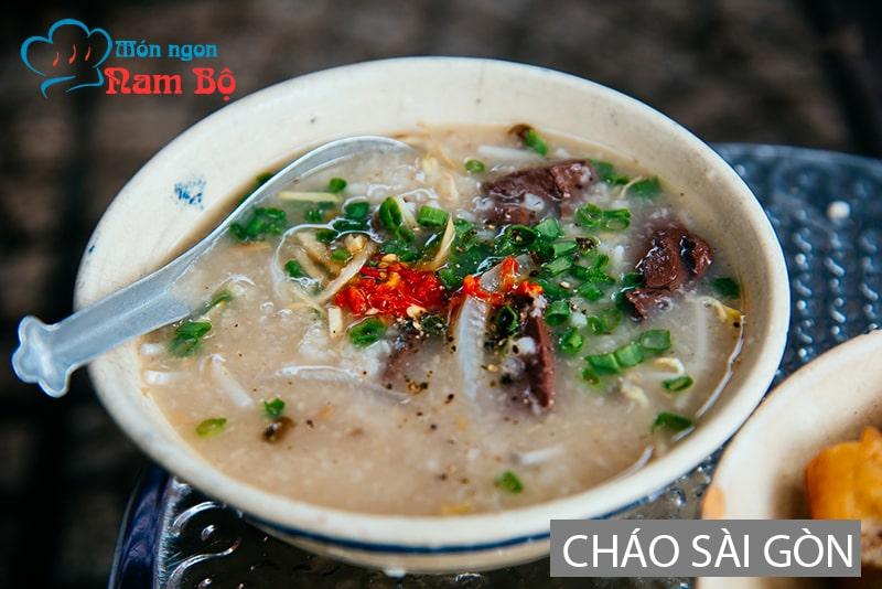 Ngày mưa gió ở Sài Gòn đi ăn cháo