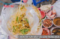 """Điểm danh 5 món ăn """"gây bão"""" Sài Gòn trong mùa hè"""