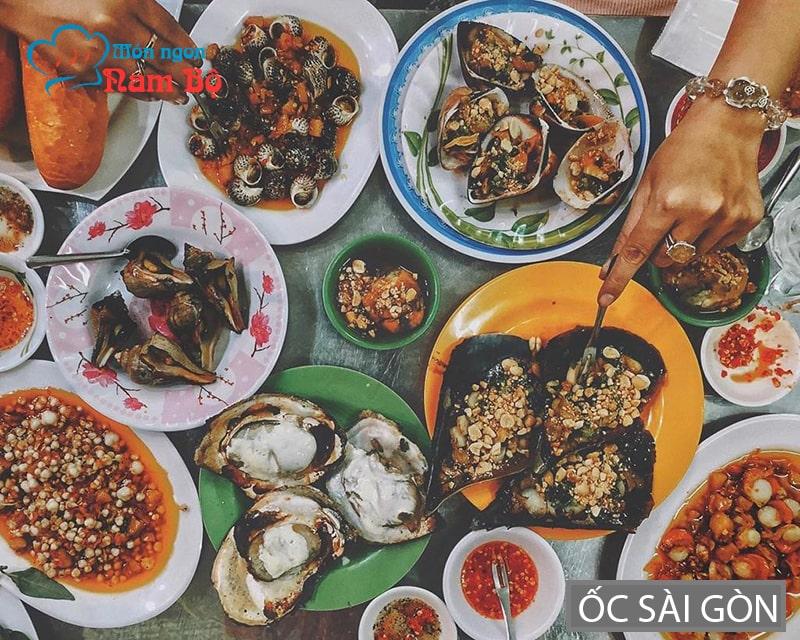 Ngày mưa gió ở Sài Gòn đi ăn ốc
