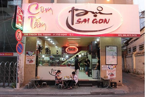 """Danh sách quán cơm tấm """"ngon miễn chê"""" ở Sài Gòn 5"""