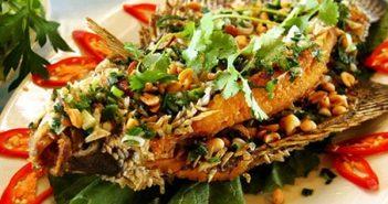 Cá tai tượng chiên xù-món ăn đặc sản của Vĩnh Long