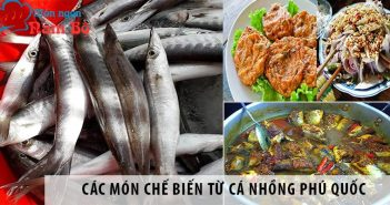 Các món chế biến từ cá nhồng Phú Quốc ăn mãi không chán