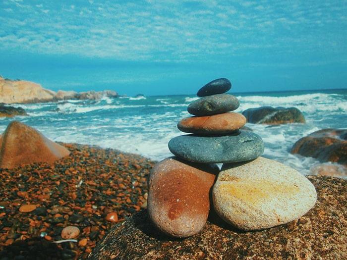 Bãi đá 7 màu ở Phan Thiết