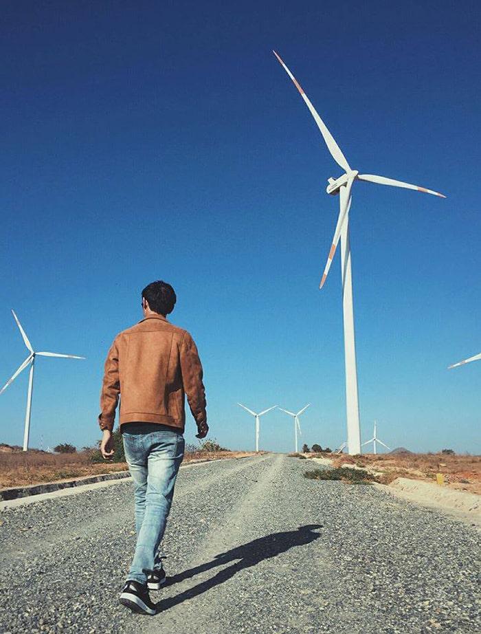 Cánh đồng gió Tuy Phong - Bình Thuận