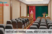 Thiết kế hội trường 150m2 nên sử dụng loại ghế gì? 6