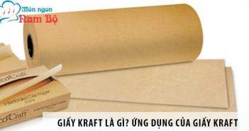 Giấy Kraft là gì? Ứng dụng của giấy Kraft trong in ấn