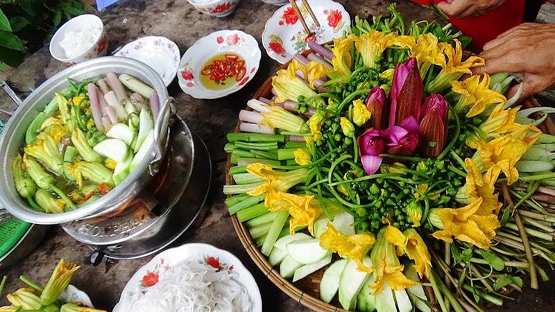 Lẩu cá kèo vốn là món ăn của vùng sông nước miền Tây Nam Bộ
