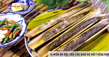 10 món ăn đặc sản của Nam Bộ nổi tiếng nhất
