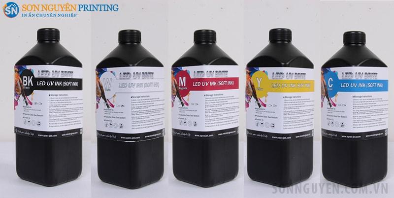 Mực in gốc dầu UV