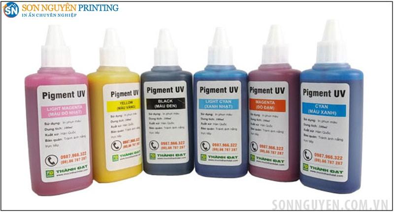 Mực in Pigment UV