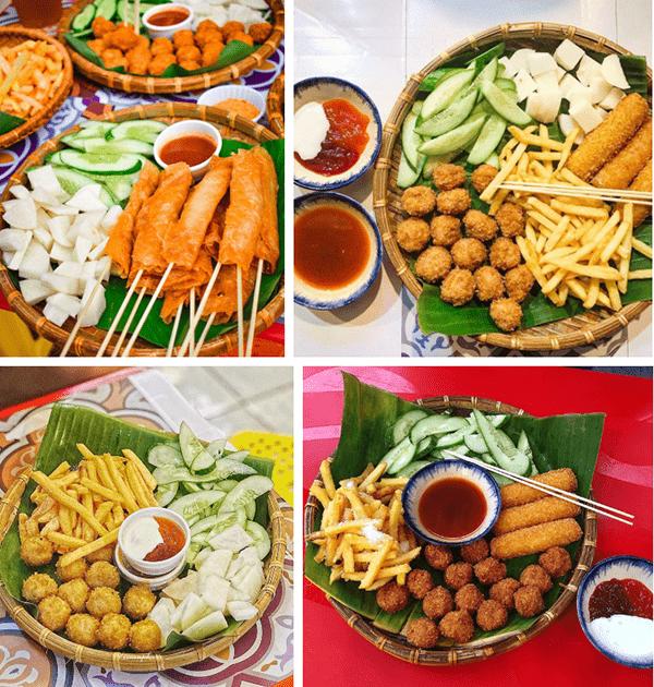 Kiot Ăn Vặt là quán ăn vặt Hà Nội nổi tiếng ở Sài Gòn