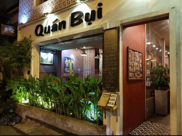 Quán Bụi - Ngô Văn Năm là 1 trong những quán đặc sản Hà Nội ở Sài Gòn